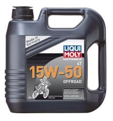LIQUI MOLY 4T 15W-50 OFFROAD - 4l