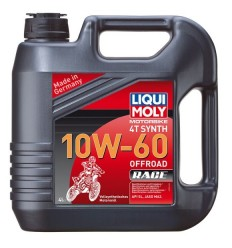 LIQUI MOLY 4T SYNTH 10W-60 OFFROAD RACE - 4l