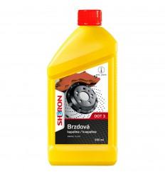 SHERON Brzdová kvapalina DOT 3 500 ml
