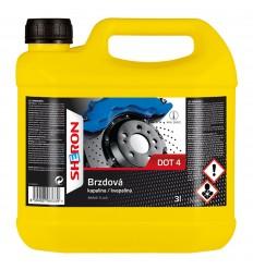 SHERON Brzdová kvapalina DOT 4 3L