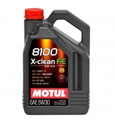 MOTUL 8100 X-CLEAN FE 5W-30 5L 104777