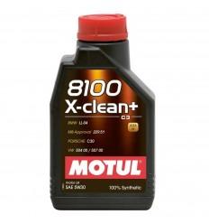 MOTUL 8100 X-CLEAN+ 5W-30 1L 106376/102259