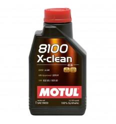 MOTUL 8100 X-CLEAN 5W-30 1L 102785