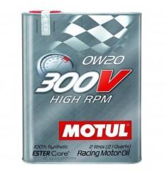 MOTUL 300V HIGH RPM 0W-20 2L 104239