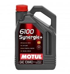 MOTUL 6100 SYNERGIE+ 10W-40 4L 101491