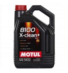 MOTUL 8100 X-CLEAN+ 5W-30 5L 106377