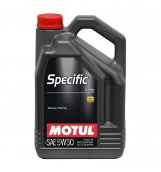 MOTUL SPECIFIC 0720 5W-30 5L 102209