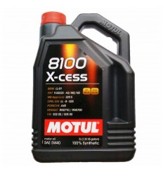 MOTUL 8100 X-CESS 5W-40 5L 102870