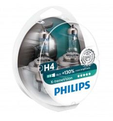 žiarovka 12V H4 Xtreme Vision Box Philips