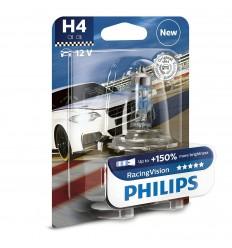 Autožiarovky PHILIPS H4 RacingVision 12342RVS2 +150% 2ks/balenie