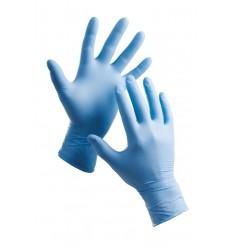 rukavice Barbar nitrilové pudrované (100ks)
