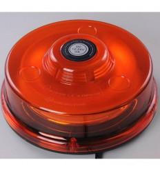 maják LED magnetický 12V-24V oranžový nízky 48 SMD5730