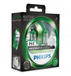 Philips ColorVision Fialová H4 12V 60/55W 12342CVPGS2 - 2ks/balenie