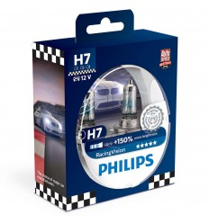 philips H7 racing vision 12972RVS2