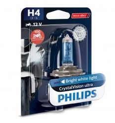 PHILIPS Crystal Vision ultra Moto H4 12V 55/60W PX26d