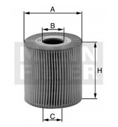 filter olejový mann HU 726 2x