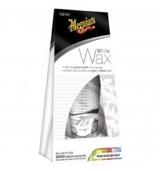 Meguiar's White (Light) Wax - leštenka s voskom pre biele a svetlé laky 198 g