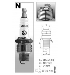 BRISK sviečka NR15S