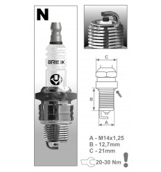 BRISK sviečka NR14C