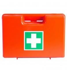 Kufrík prvej pomoci plastový s prepážkami (CH-27 x 19 x 12 cm)