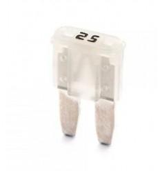 Poistka Micro II úzka nožová poistka 25A - biela