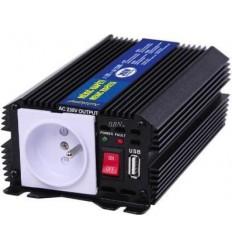 Menič 24V/230V 300W+USB výstup