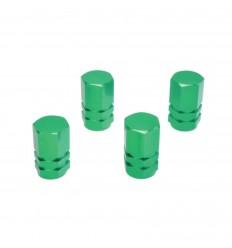 Ozdobné kryty ventilov zelené