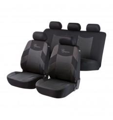 Autopoťah Elegance 3ks sivá/čierna BASIC WALSER