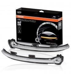 OSRAM LED smerovky do bočných zrkadiel LEDriving® Dynamic Mirror Indicators pre VW Golf VII - White Edition