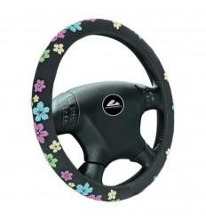 Poťah volantu 37-39 kvetinový dizajn