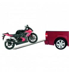 Carpoint nájazdové rampy OCEĽOVÁ 150 X 22 X 4,5 CM 225kg 1 KUS NA MOTORKU ALEBO ŠTVORKOLKY