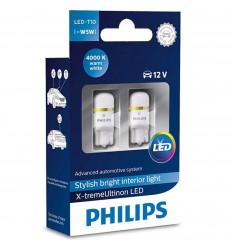Philips X-treme Vision LED W5W 4000K - 2ks