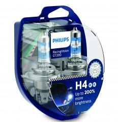 Philips RacingVision GT200 H4 12V 60/55W - 2ks/balení