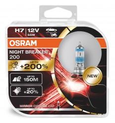 Osram Night Breaker 200 H7 +200% 2ks/balenie