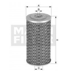 filter paliva mann P 982x