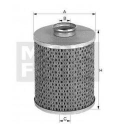 filter paliva mann P 710/1