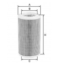 filter vzduchový mann C 1189