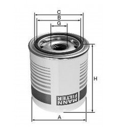 filter vysušovač mann TB 1374/3x