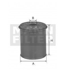 filter paliva mann P 738x