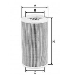 filter vzduchový mann C 12104