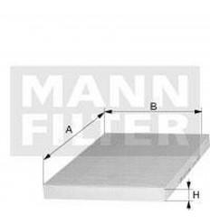 filter peľový mann CU 1827