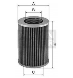 filter hydraulický mann HD 1258