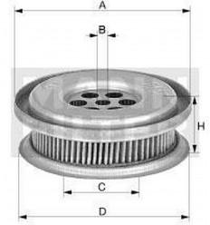 filter hydraulický mann HD 1330