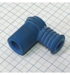 koncovka kábla odrušená (silikon-modrá)
