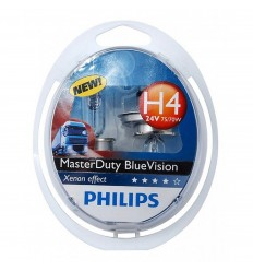 žiarovka 24V H4 Blue Vision Box Philips