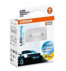 OSRAM LEDriving 6436SW C5W 1W 6700K 36mm STANDARD