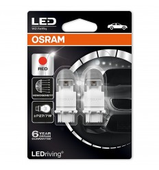 Osram 3557R-02B Red P27/7W Premium LED 2ks – blister