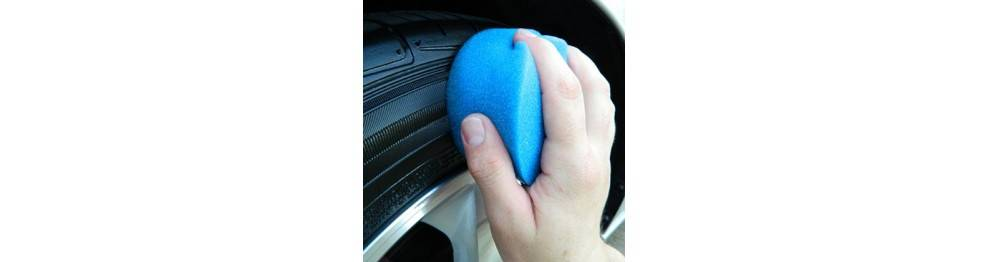 Péče o pneumatiky a vnější plasty