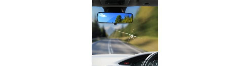 Opravy prasklin OD KAMÍNKŮ na oknech AUTA