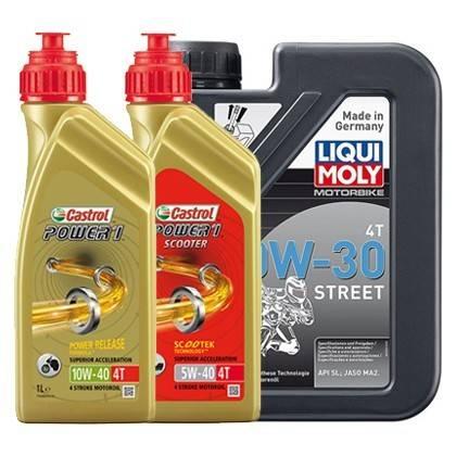 Motorové oleje 4T